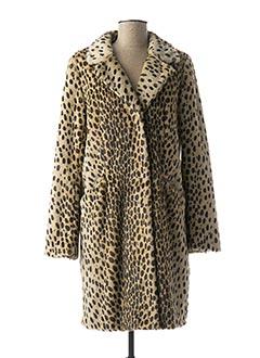 Manteau long beige BEAUMONT pour femme
