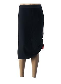 Jupe mi-longue noir PERSONA BY MARINA RINALDI pour femme