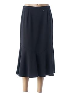 Jupe longue noir FRANCE RIVOIRE pour femme