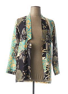 Veste chic / Blazer bleu DANIELA COOL pour femme
