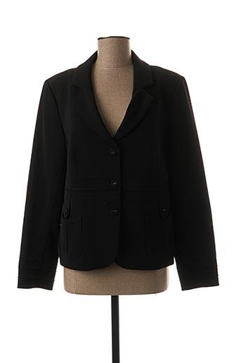 Veste chic / Blazer noir QUATTRO pour femme
