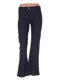 Pantalon casual bleu SCHOOL RAG pour femme