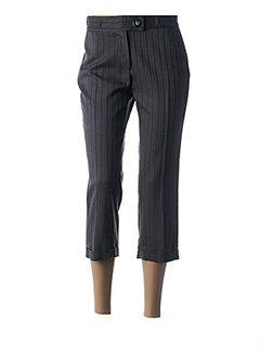 Pantalon 7/8 violet FLEUR DE SEL pour femme