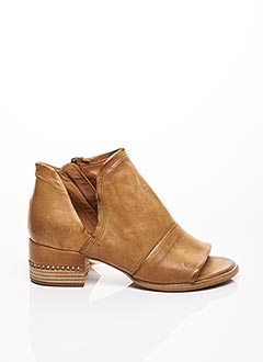 Sandales/Nu pieds marron A.S.98 pour femme