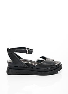Sandales/Nu pieds noir A.S.98 pour femme