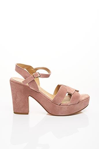 Sandales/Nu pieds rose FIORINA pour femme