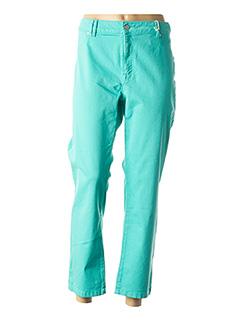 Pantalon 7/8 vert CMK pour femme