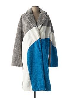 Manteau long bleu SILVIAN HEACH pour femme