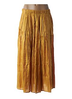 Jupe longue jaune FRNCH pour femme