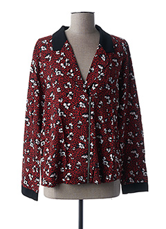 Veste casual rouge I.CODE (By IKKS) pour femme