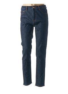 Jeans coupe slim bleu LAB DIP PARIS pour femme