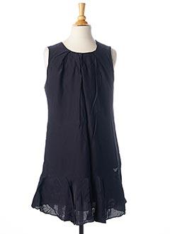 Robe mi-longue bleu ARMANI pour fille
