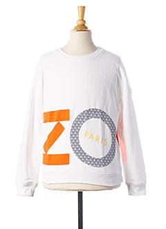 Sweat-shirt blanc KENZO pour garçon