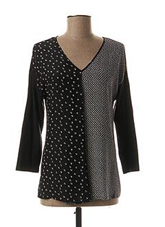 T-shirt manches longues noir WEEKEND MAXMARA pour femme