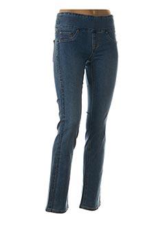Pantalon casual bleu JOSEPH RIBKOFF pour femme
