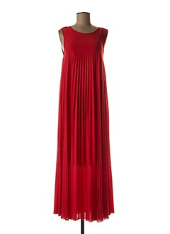 Robe longue rouge WEEKEND MAXMARA pour femme