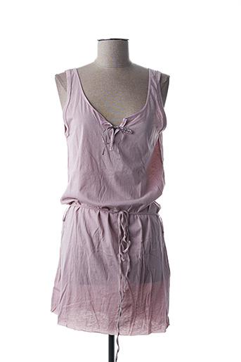 Robe courte rose EGERY pour femme