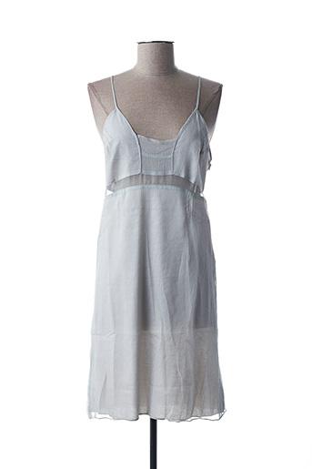 Robe mi-longue gris BILL TORNADE pour femme