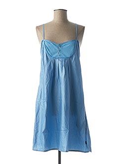 Robe mi-longue bleu G STAR pour femme