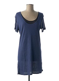 Tunique manches courtes bleu G STAR pour femme