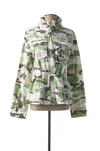 Veste casual vert BENCH pour femme