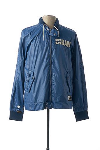 Veste casual bleu G STAR pour homme