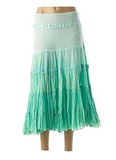 Jupe longue vert CHILLI PEPPER pour femme