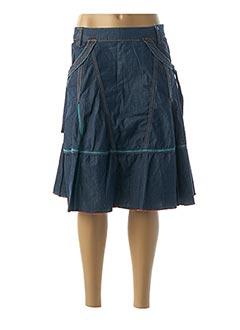 Jupe mi-longue bleu FIRETRAP pour femme