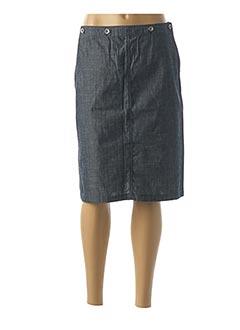 Jupe mi-longue bleu TEDDY SMITH pour femme