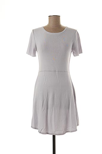 Robe pull violet LOUISE OROP pour femme