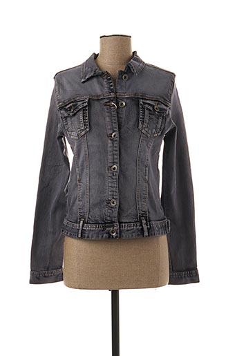 Veste en jean gris ONADO pour femme