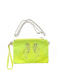 Pochette vert MOGANO pour femme