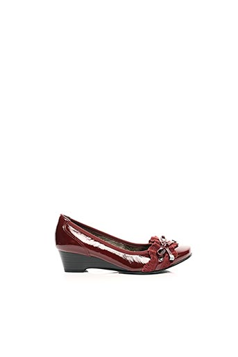 Ballerines rouge SWEET pour femme