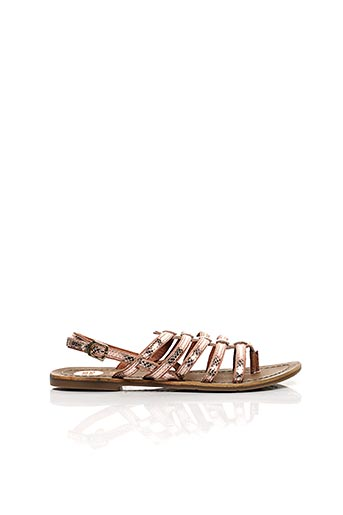 Sandales/Nu pieds rose GIOSEPPO pour femme