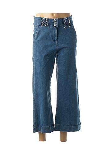 Jeans coupe large bleu CAROLINE BISS pour femme