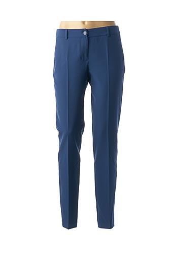 Pantalon chic bleu KOCCA pour femme