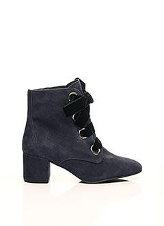 Bottines/Boots bleu HOGL pour femme