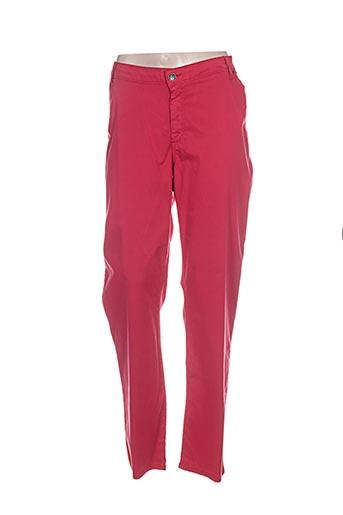 Pantalon casual rouge MERI & ESCA pour femme