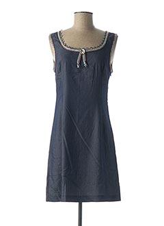 Robe courte bleu LO! LES FILLES pour femme