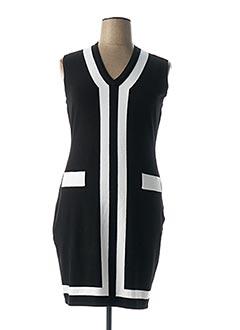 Robe pull noir AIRFIELD pour femme