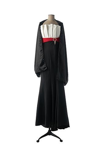Robe longue noir EMILY.G pour femme
