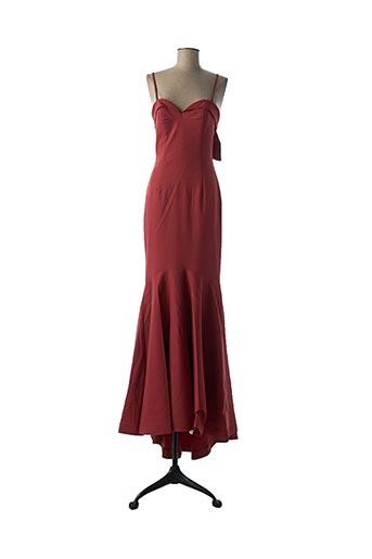 Robe longue orange ETXART&PANNO pour femme