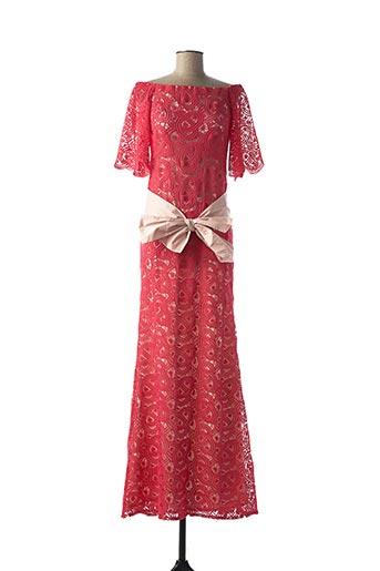 Robe longue rouge ACCESS FASHION pour femme
