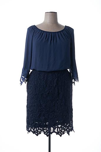 Robe mi-longue bleu ACCESS FASHION pour femme
