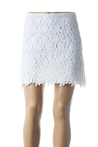 Jupe courte blanc ETXART&PANNO pour femme