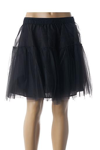 Jupe courte noir ETXART&PANNO pour femme