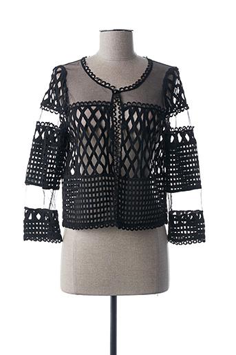 Veste casual noir ACCESS FASHION pour femme