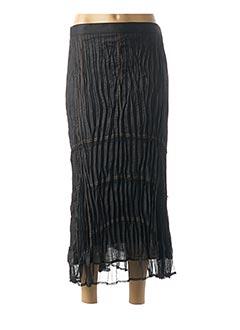 Jupe longue noir BE THE QUEEN pour femme