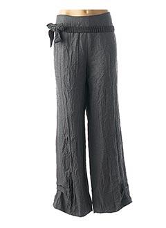Pantalon chic gris EVA TRALALA pour femme