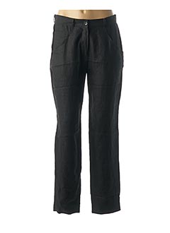 Pantalon casual noir EVA TRALALA pour femme